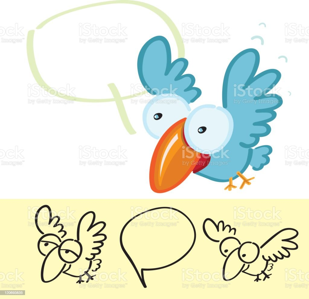 Cartoon Birds royalty-free stock vector art