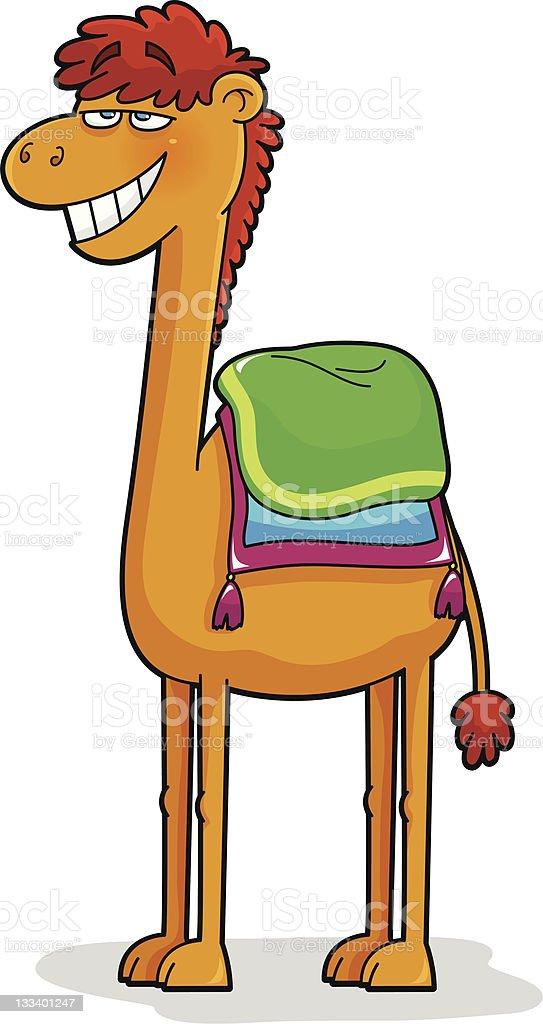 cartoon camel royalty-free stock vector art