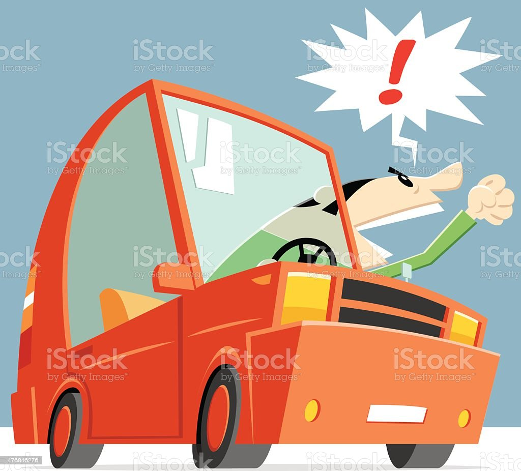 cartoon car vector vector art illustration