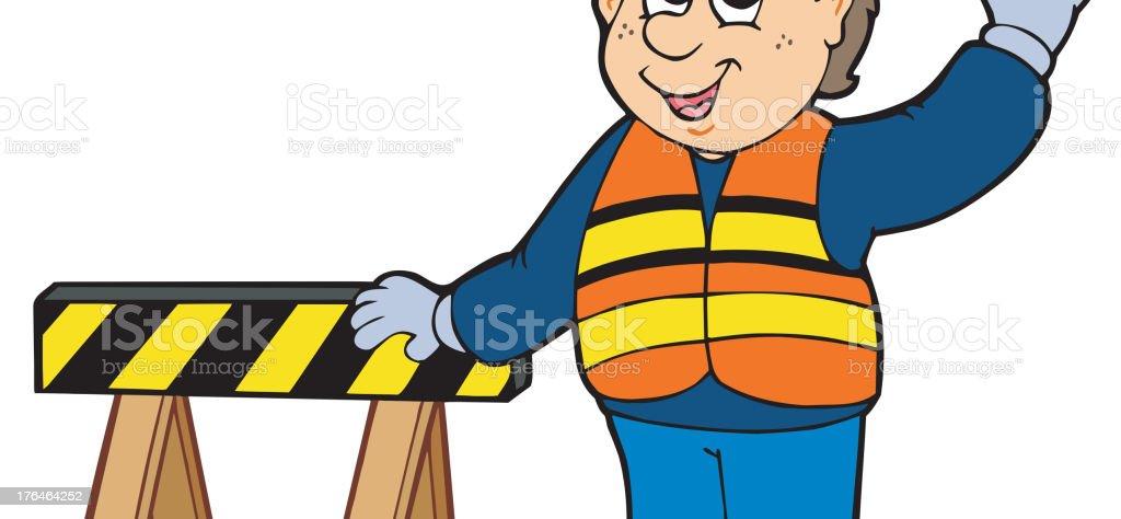 Bauarbeiter bei der arbeit comic  Comic Bauarbeiter Vektor Illustration 176464252 | iStock