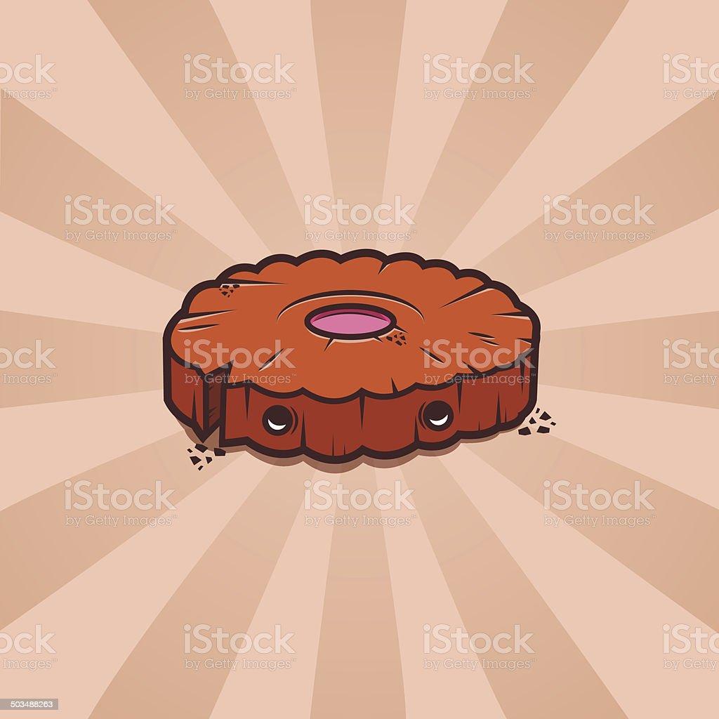 Cartoon Cookie royalty-free stock vector art