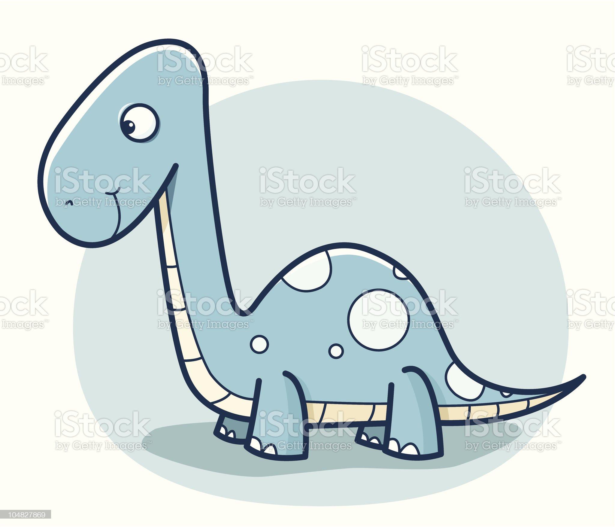 cartoon dinosaur royalty-free stock vector art