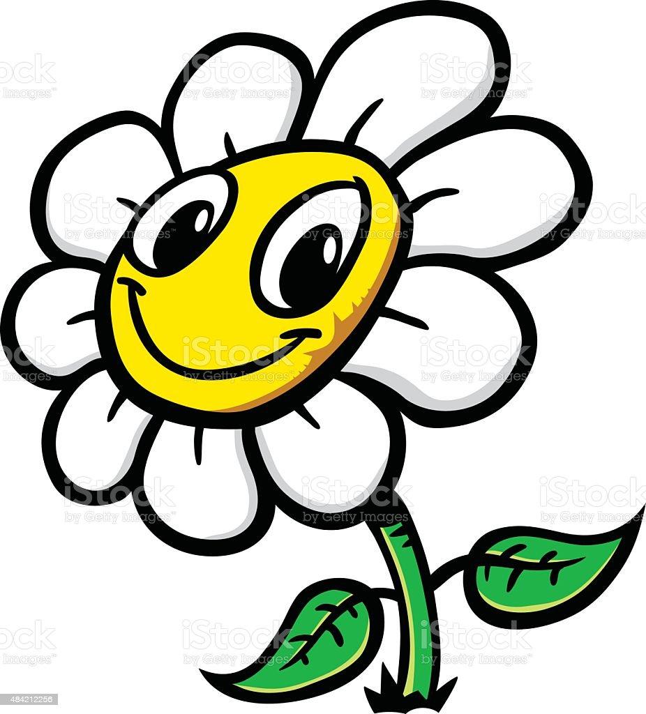 Comic Blume Vektor Illustration 484212256 Istock