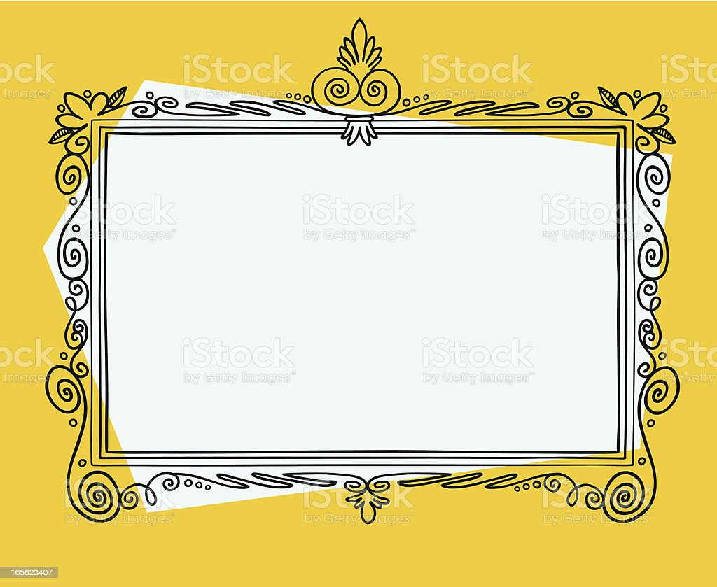Cartoon Frame royalty-free stock vector art