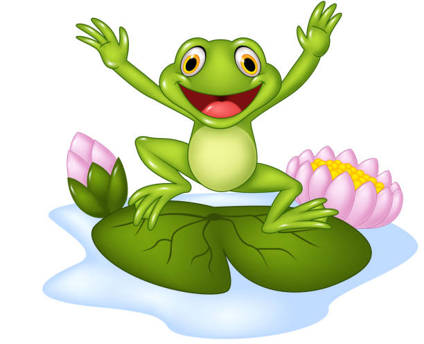 Frog Jumping Clipart Jumping Frog Cl...