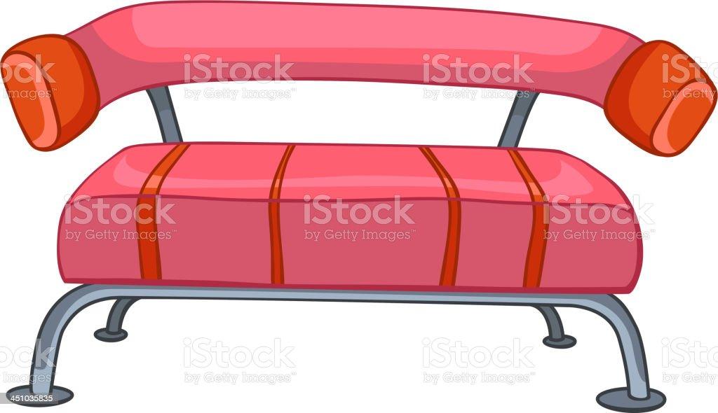 Cartoon Home Furniture Sofa royalty-free stock vector art