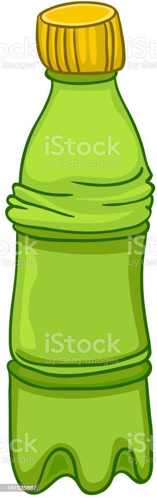 Cartoon Home Kitchen Bottle royalty-free stock vector art