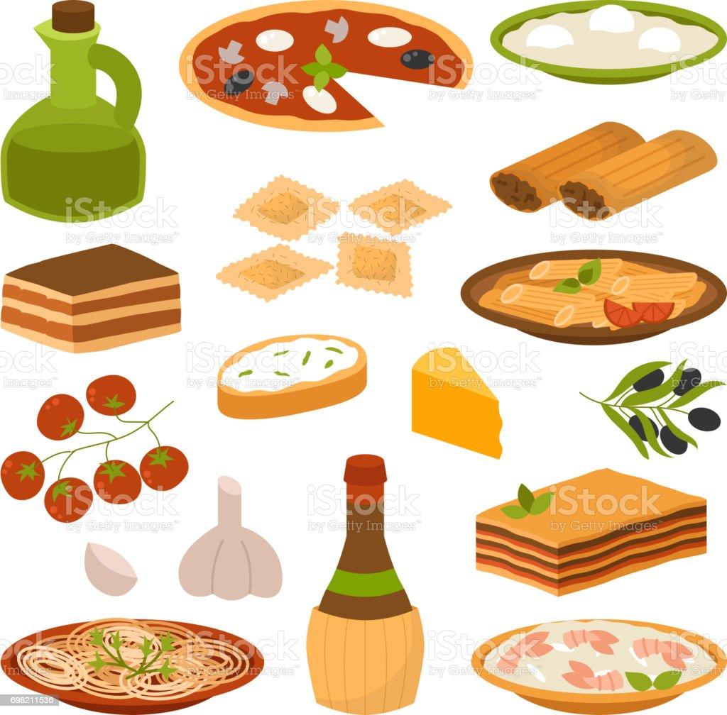 Dessin anim italie alimentaire cuisine d licieuse maison - Dessin anime de cuisine ...