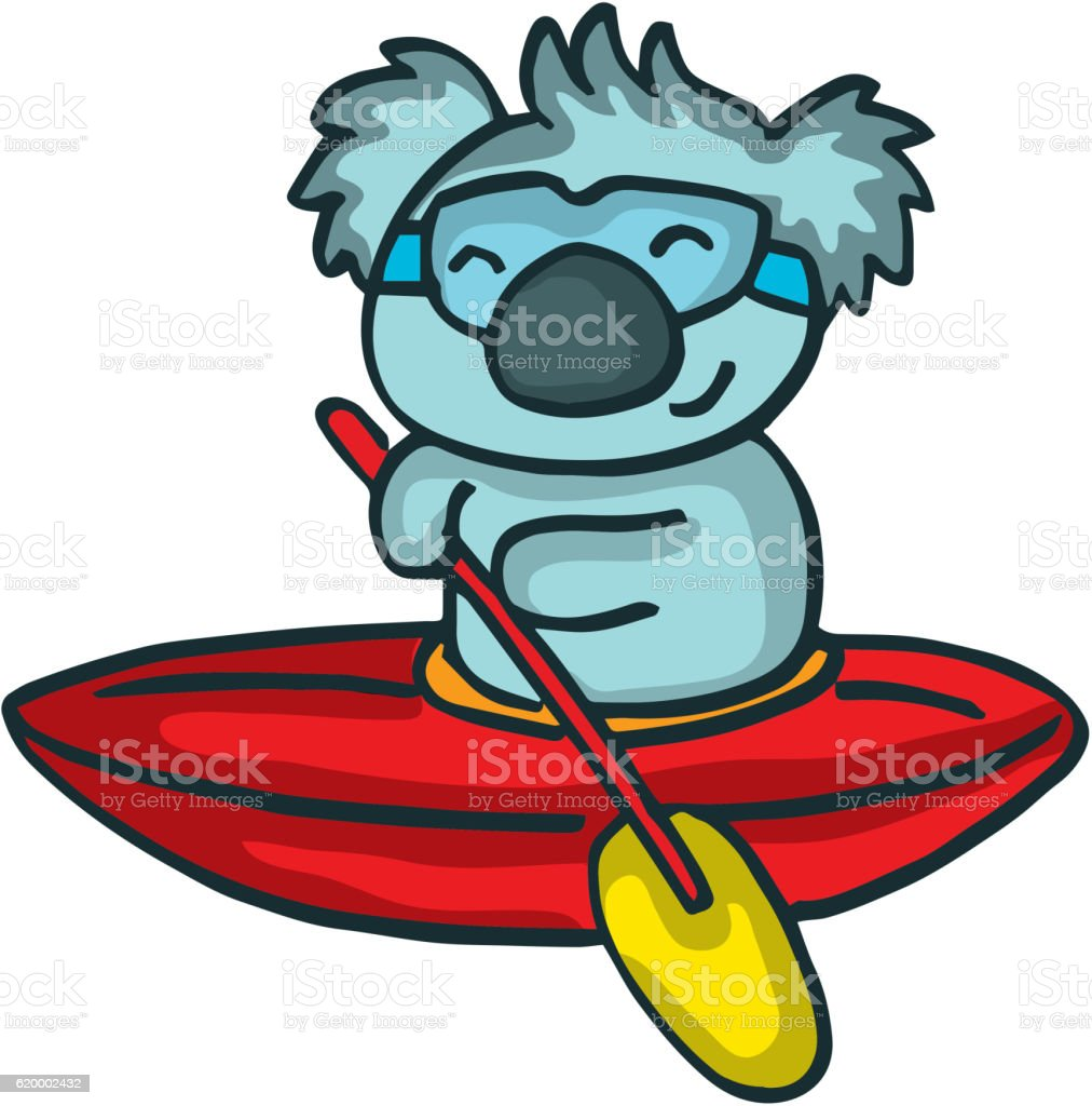 cartoon koala on the ship stock vector art 620002432 istock