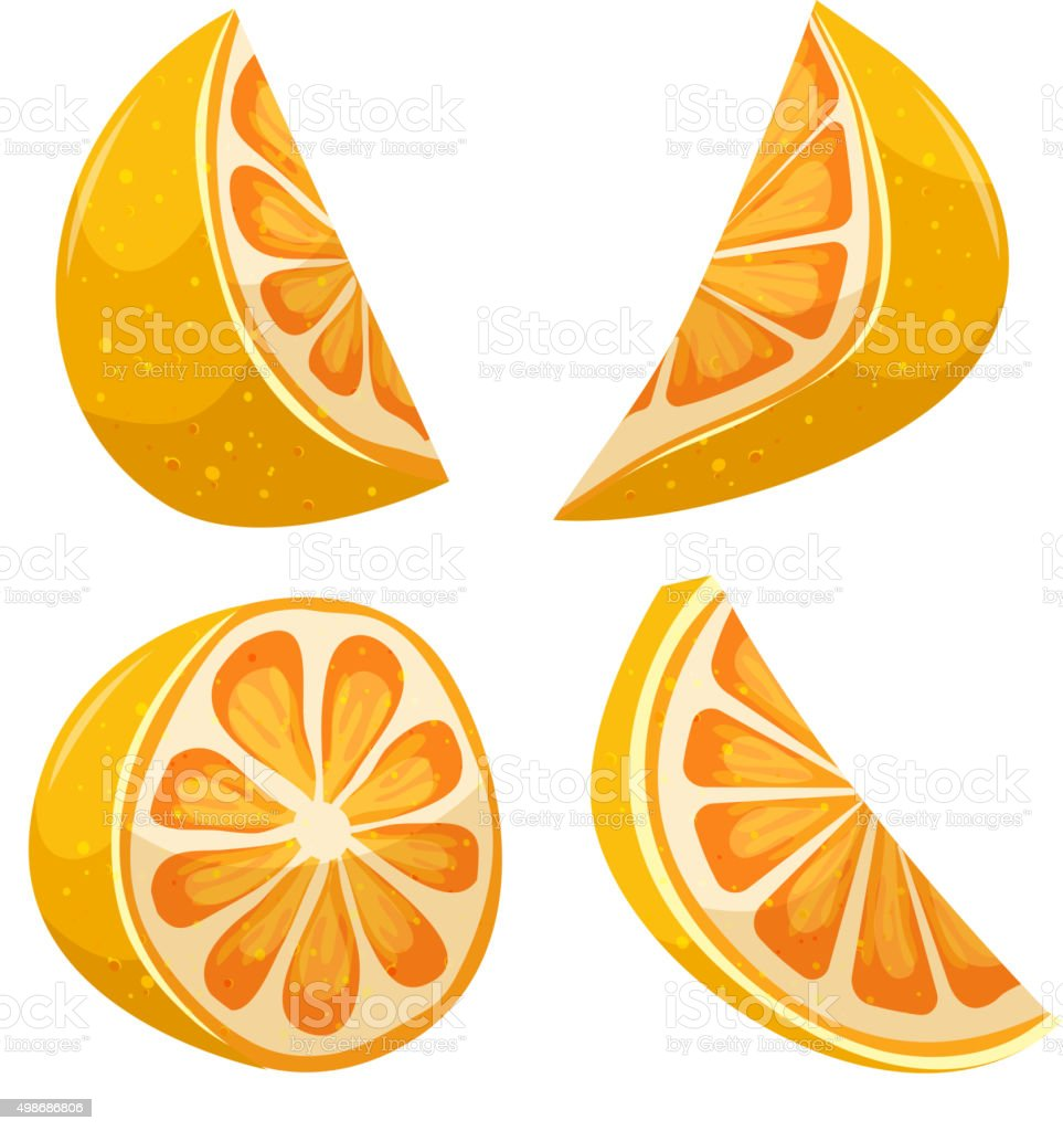 Cartoon Lemon vector art illustration