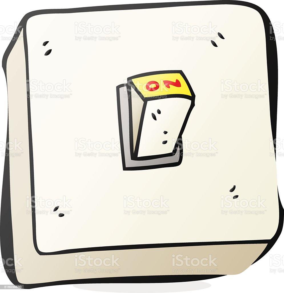 Lichtschalter clipart  Comic Lichtschalter Vektor Illustration 516038830 | iStock