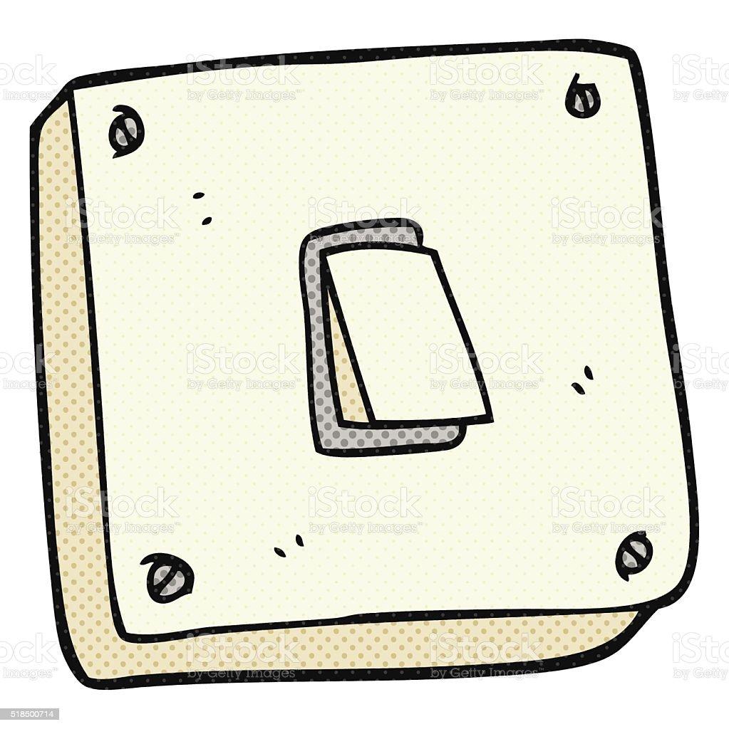 Lichtschalter clipart  Comic Lichtschalter Vektor Illustration 518500714 | iStock