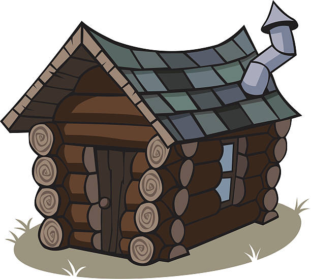 Cabin clip art vector images illustrations istock