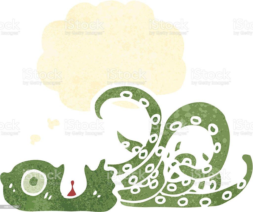 cartoon octopus royalty-free stock vector art