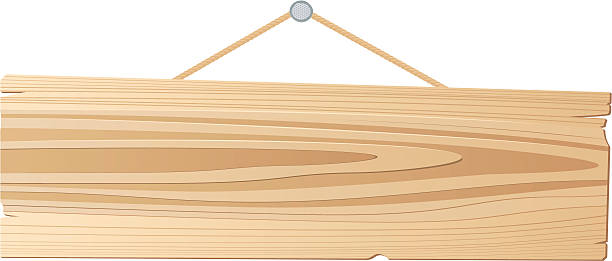 Wooden Plank Cartoon ~ Wooden sign clip art vector images illustrations istock