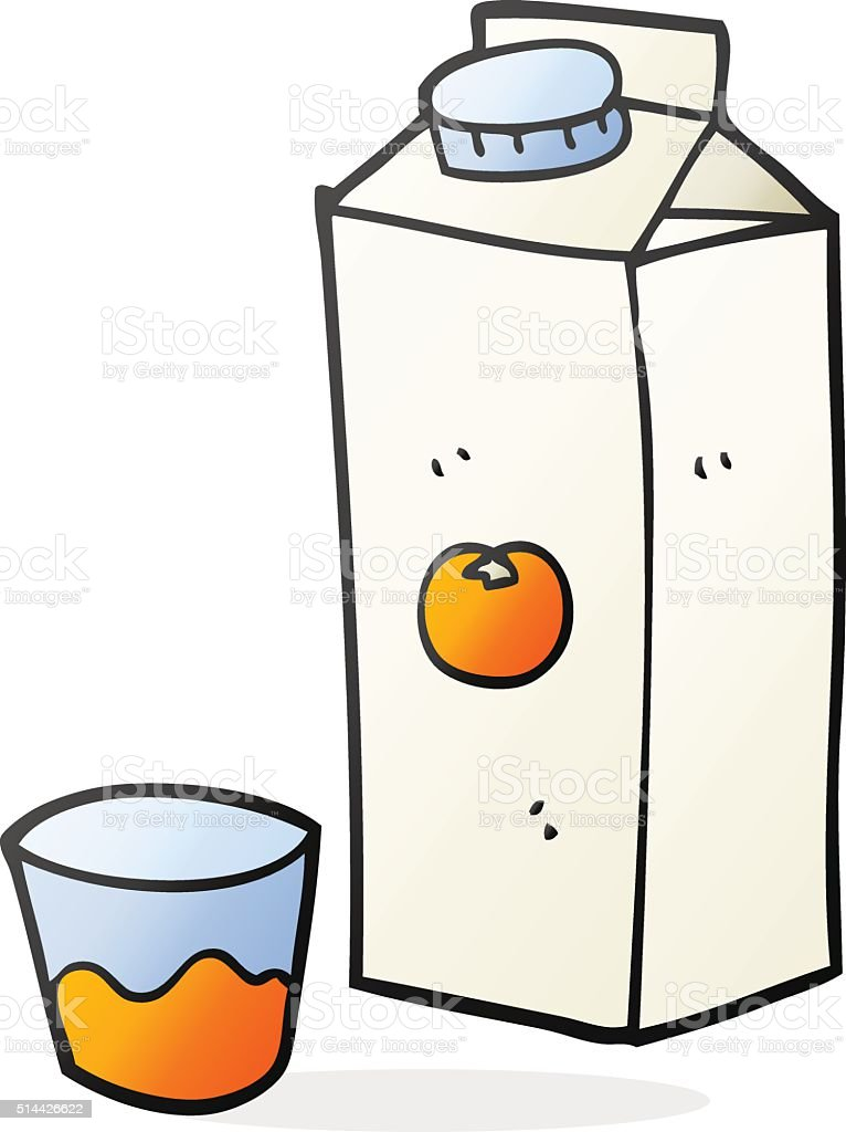 Dessin de jus dorange stock vecteur libres de droits - Orange dessin ...