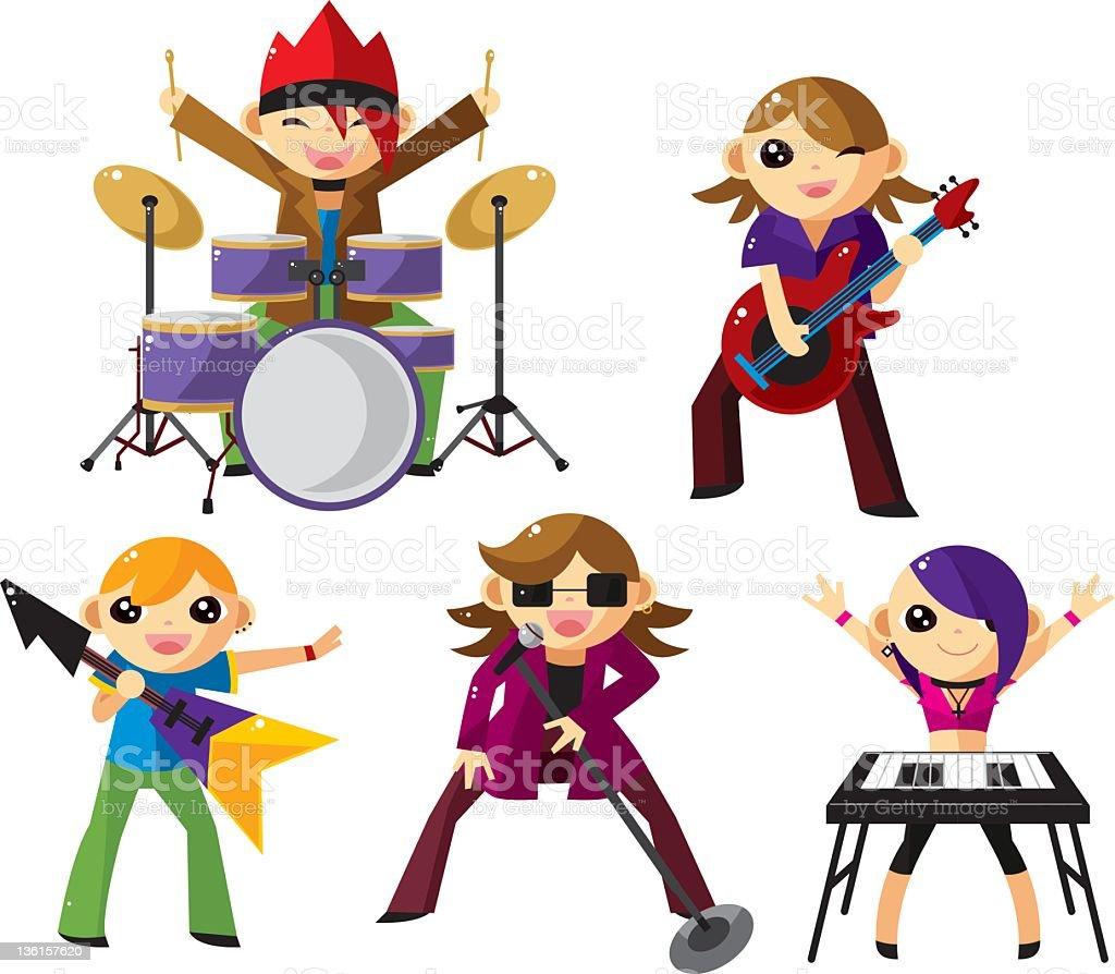 free cartoon rock band clipart - photo #20