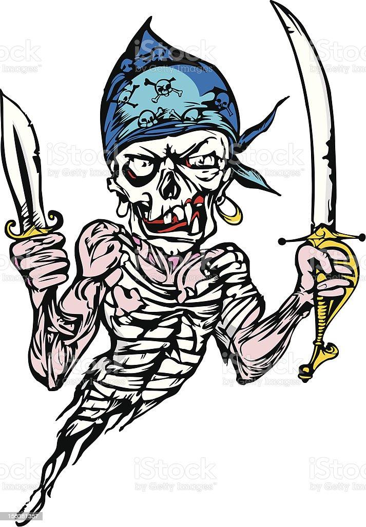 cartoon skull royalty-free stock vector art