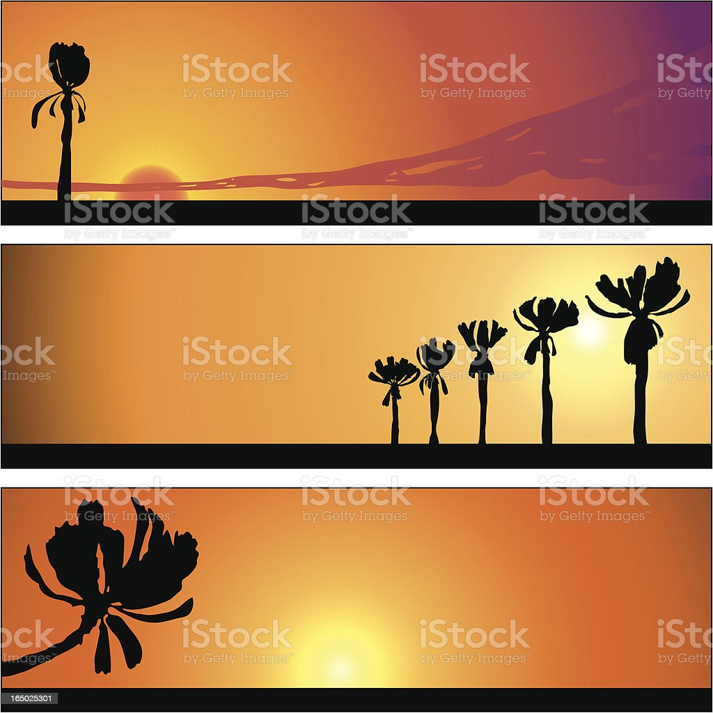 Cartoon Skyline Panel 06 royalty-free stock vector art