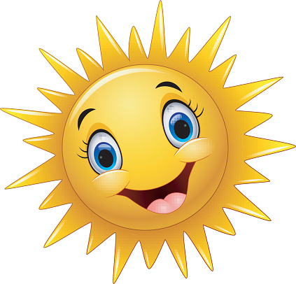 Smiling Sunflower Clip Art, Vector Images & Illustrations ...