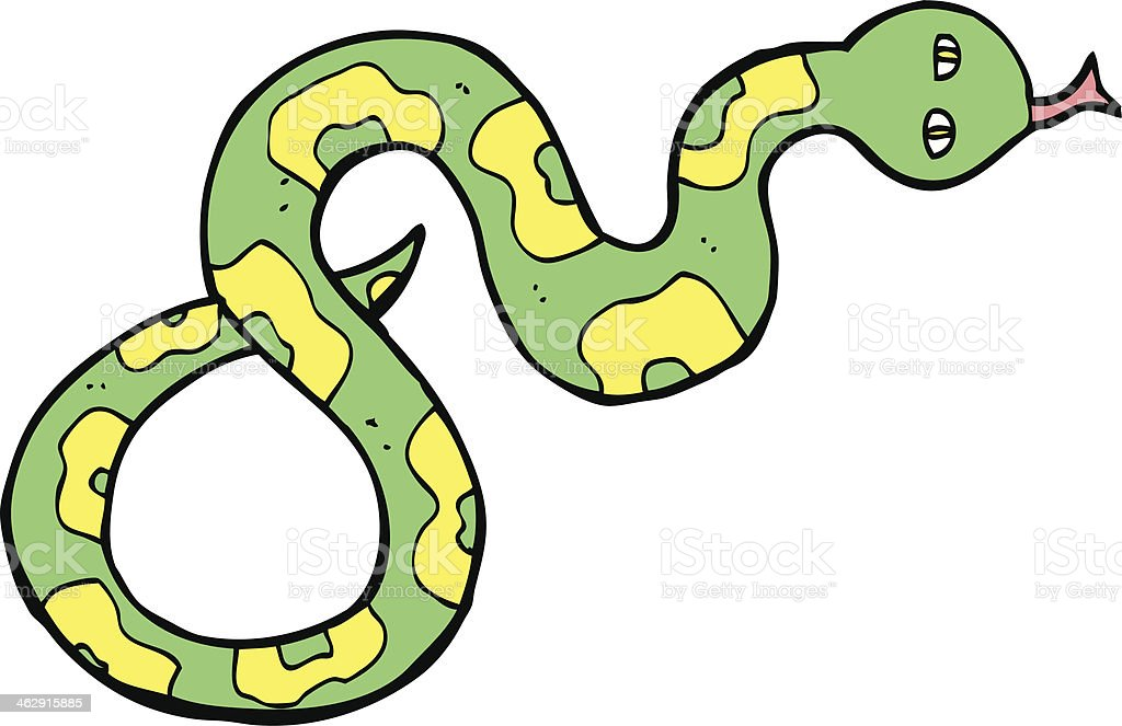 cartoon snake royalty-free stock vector art