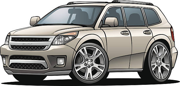 Suv Clip Art Vector Images Illustrations Istock
