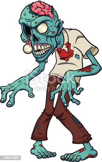 Рисовать зомби для детей