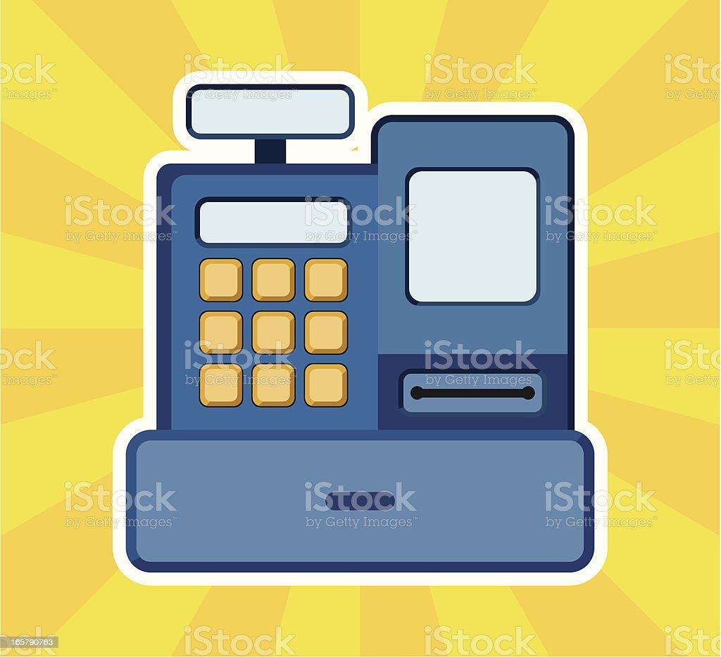 cash register royalty-free stock vector art