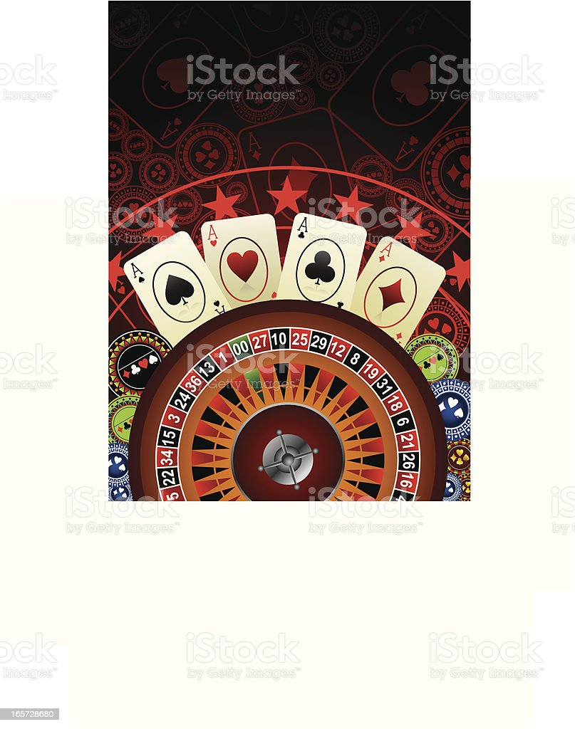 casino background royalty-free stock vector art