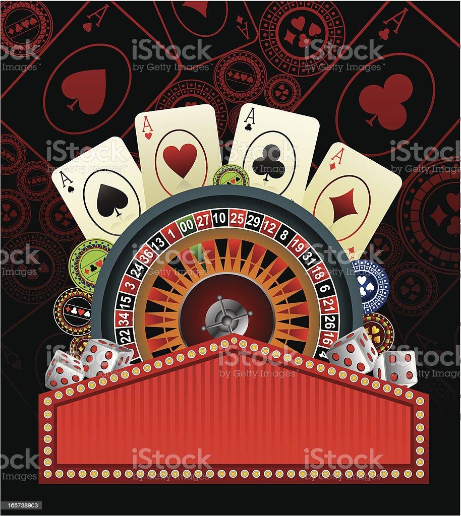 casino background royalty-free stock vector art