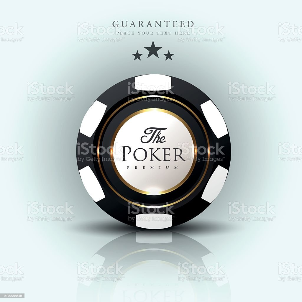 Casino background-casino chip-poker vector art illustration