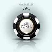 Casino background-casino chip-poker