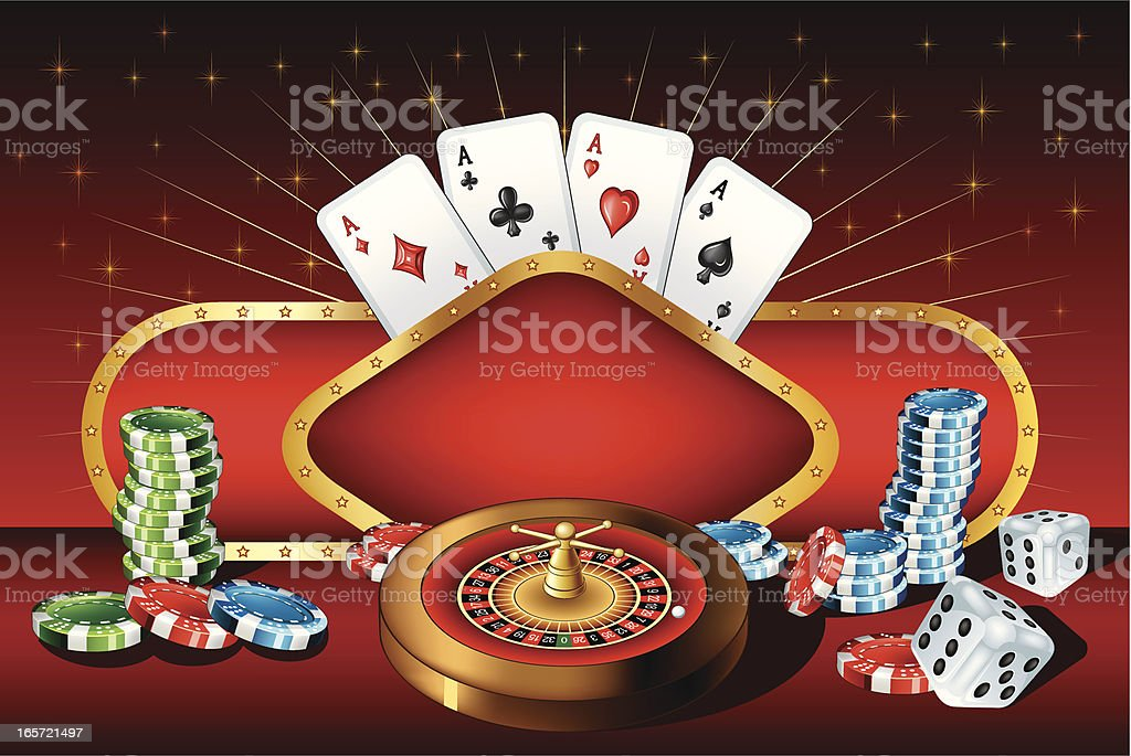 Casino design royalty-free stock vector art