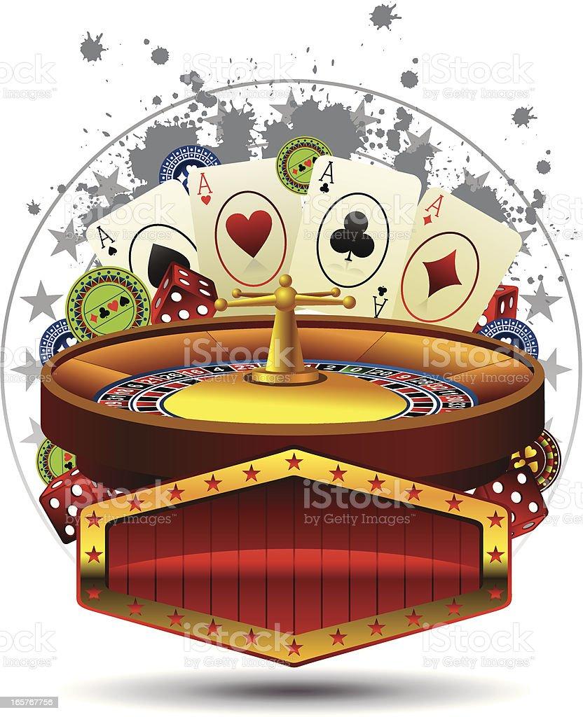 casino dsign royalty-free stock vector art