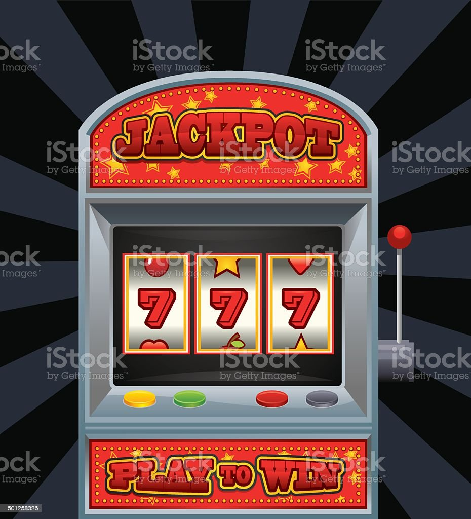 Casino - Jackpot vector art illustration