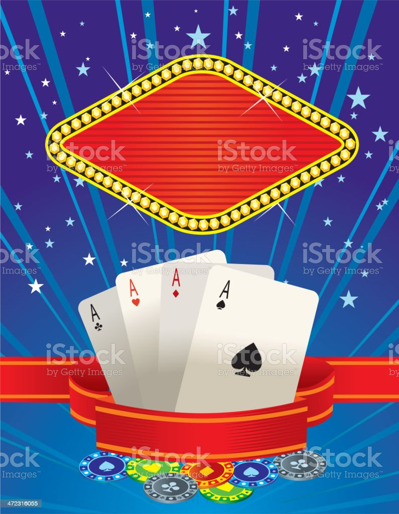 casino vector banner poker royalty-free stock vector art