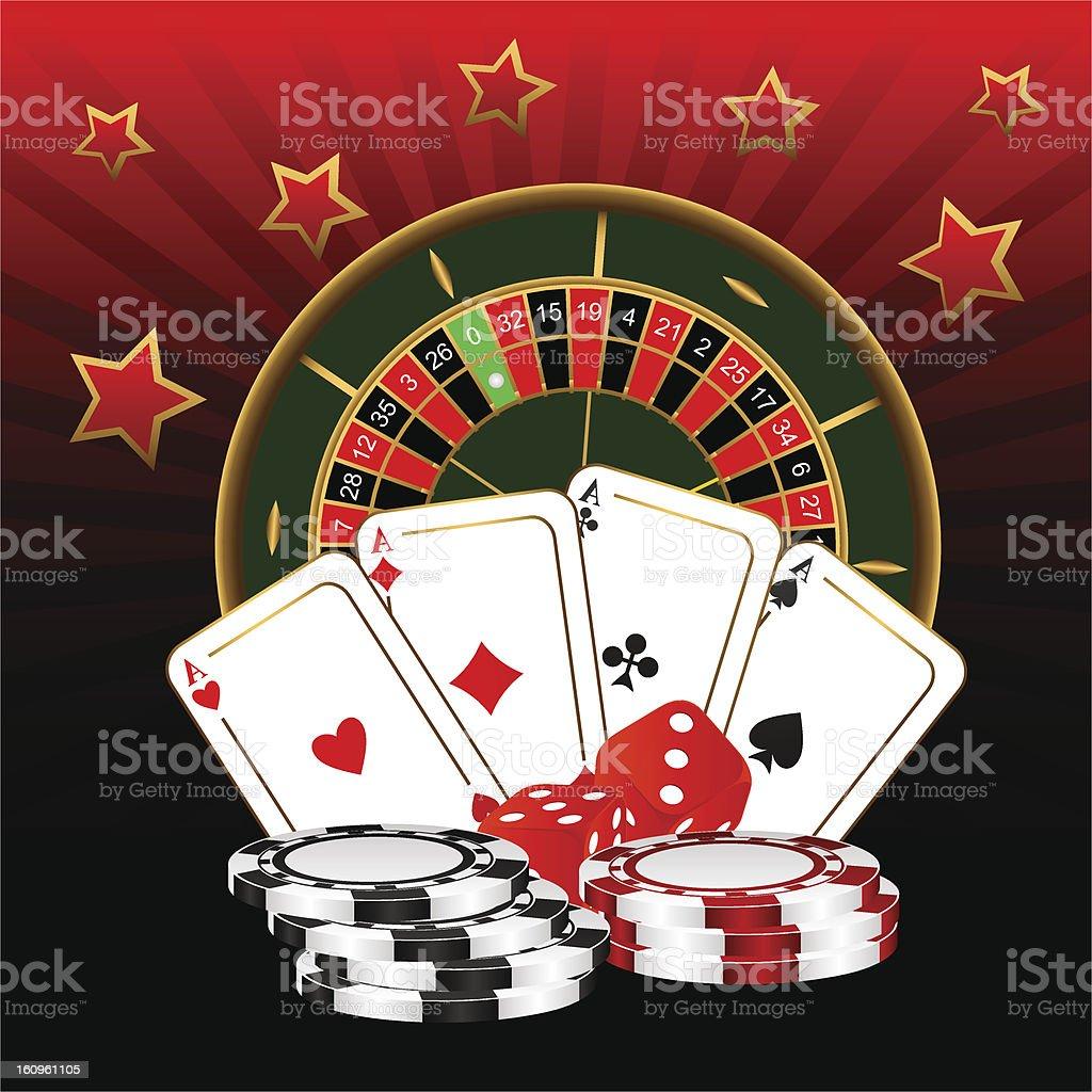 Casino. stock photo
