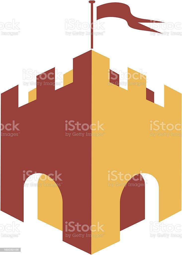 Castle royalty-free stock vector art