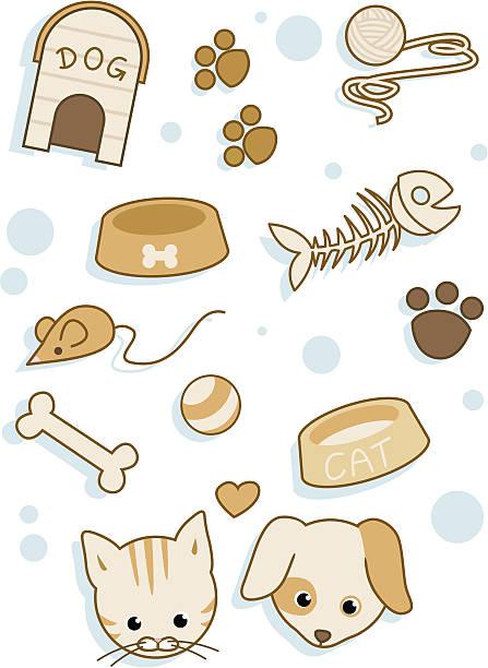 Cat Food Clip Art, Vector Images & Illustrations - iStock