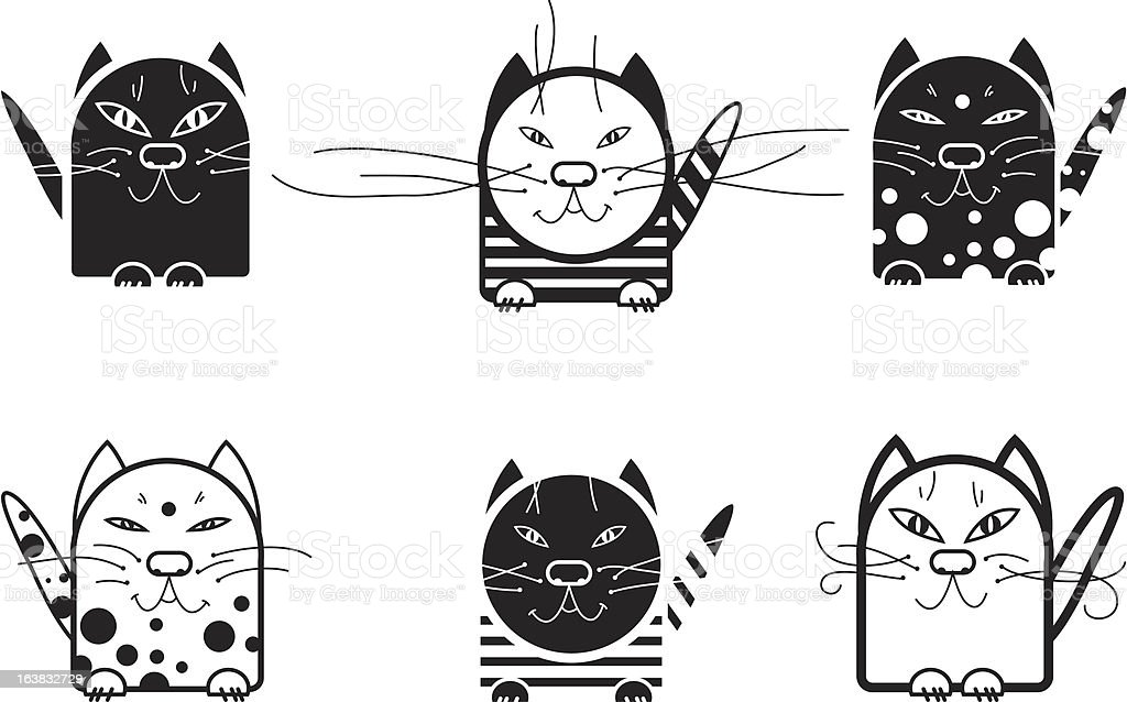 cat royalty-free stock vector art