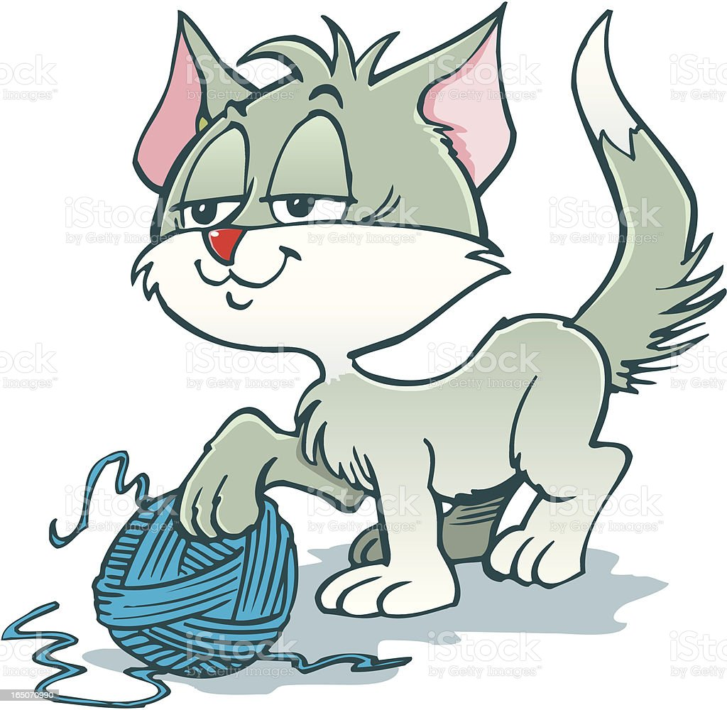 Cat royalty-free stock vector art