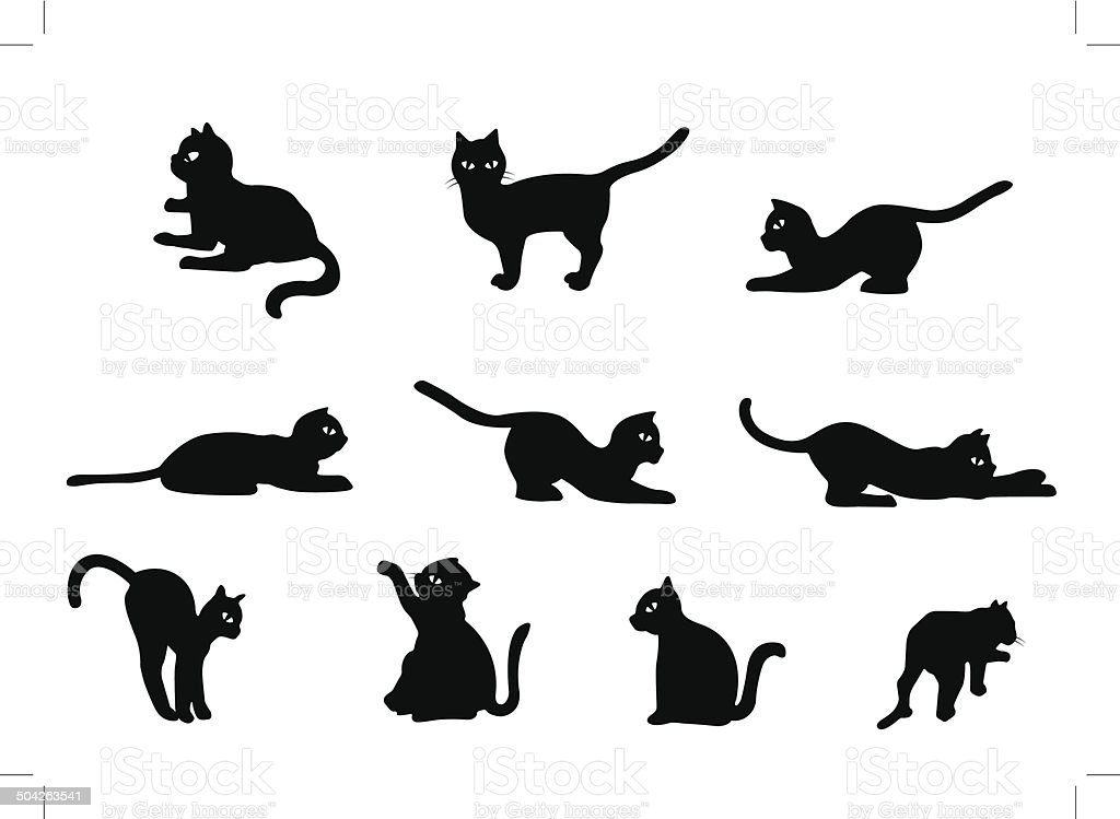 Cat Vector royalty-free stock vector art