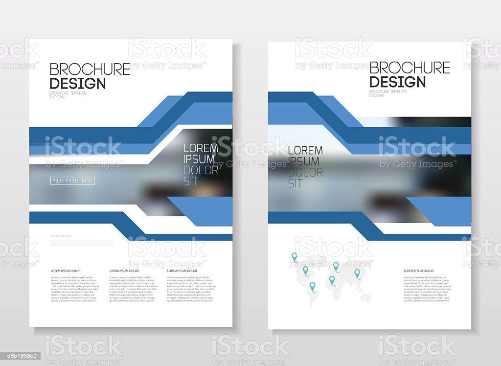 Catalogue Design Vector Free Download