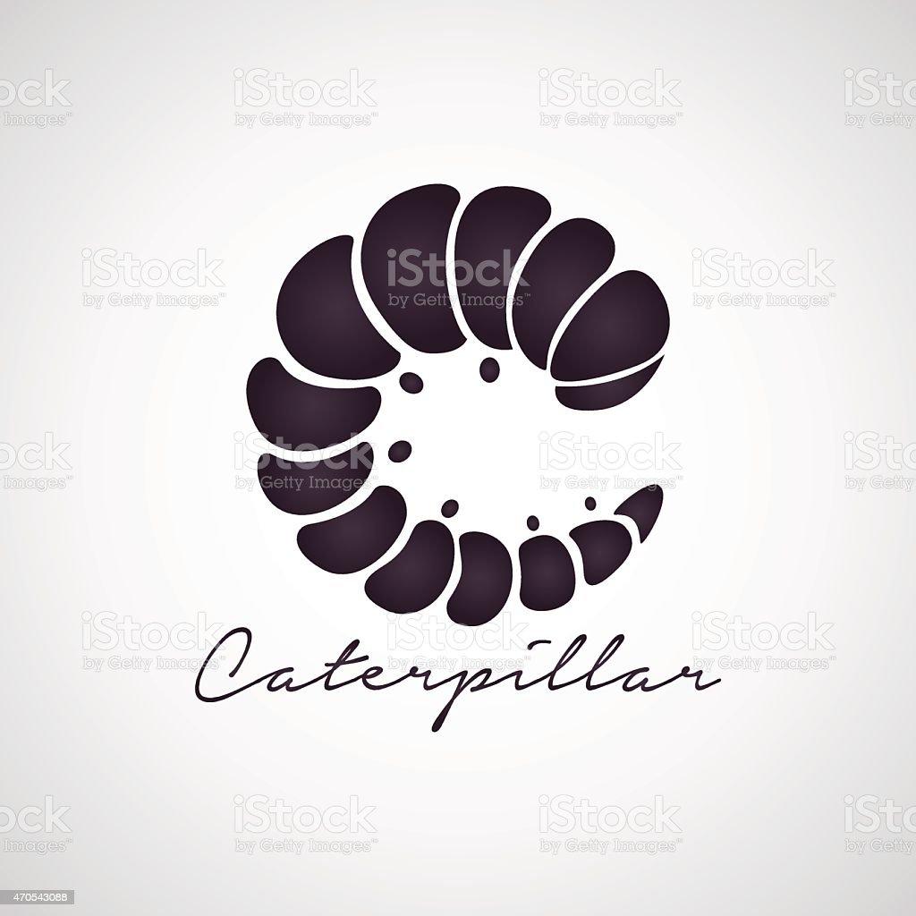 Caterpillar logo vector vector art illustration