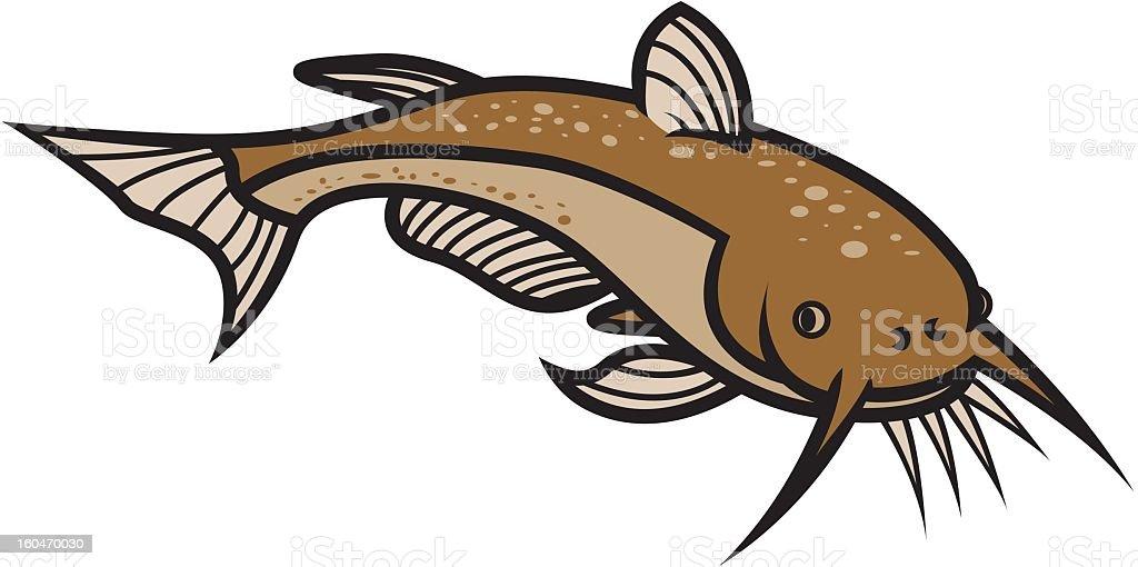 Catfish royalty-free stock vector art