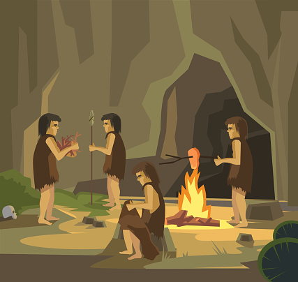 Stone Age Clip Art, Vector Images & Illustrations - iStock
