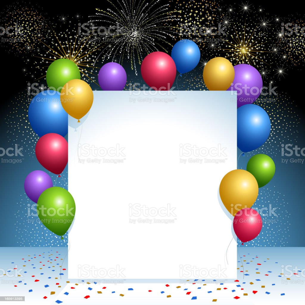 Celebration Background royalty-free stock vector art