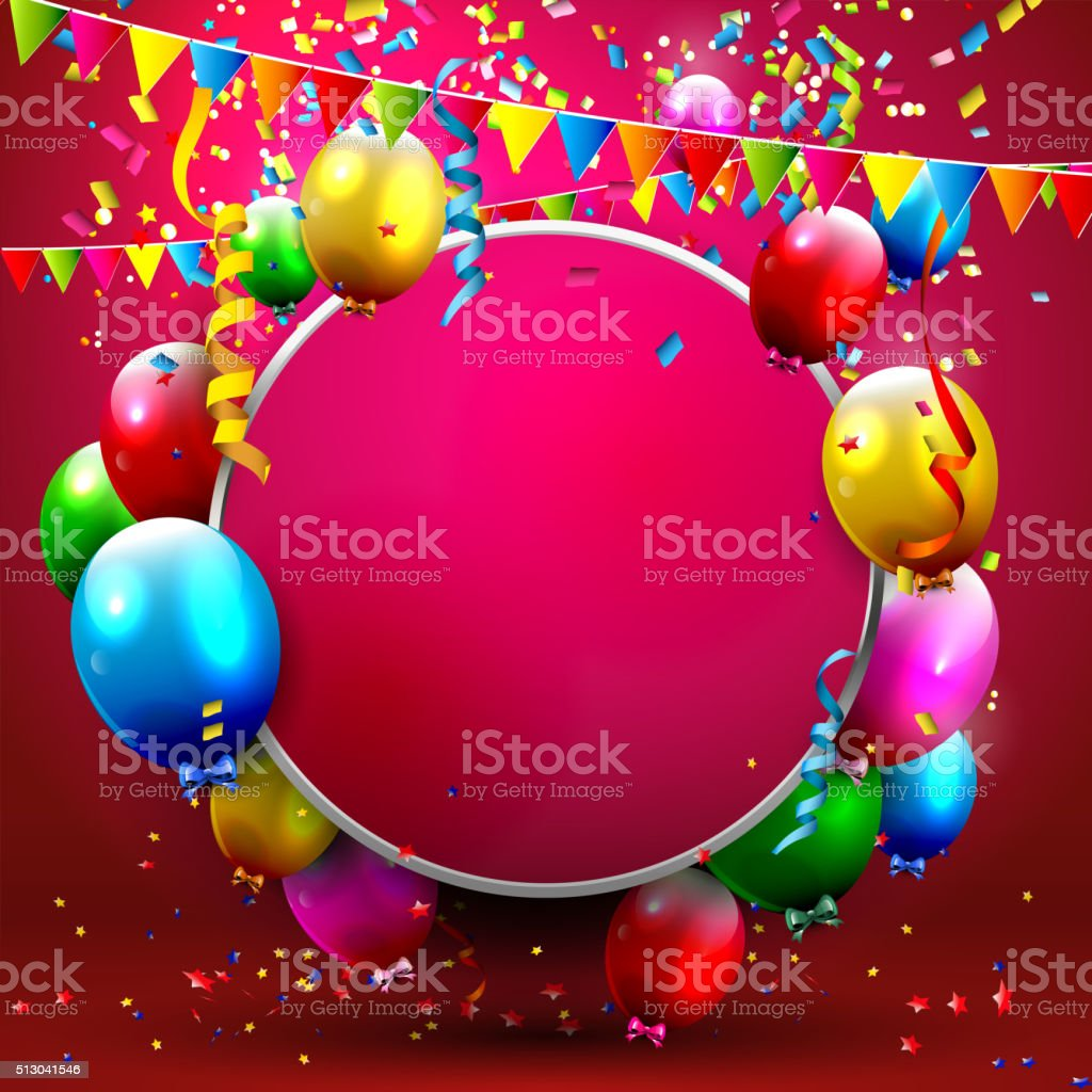 Celebration background vector art illustration