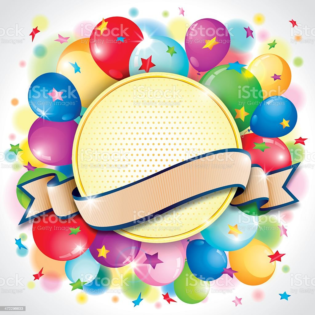 Celebration Badge royalty-free stock vector art