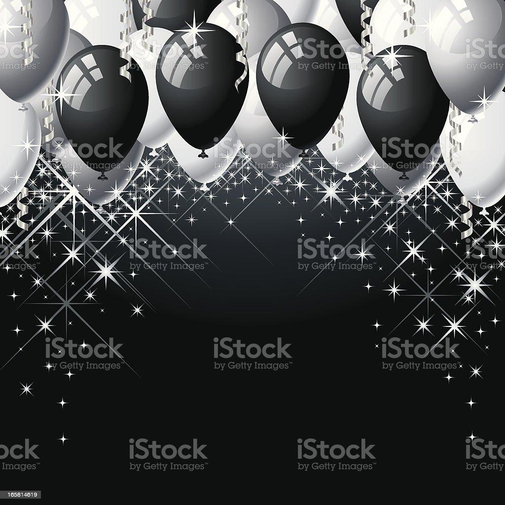 Celebration Balloons royalty-free stock vector art